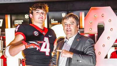 South Carolina wanted Oscar Delp. Here's how he ended up committing to Georgia anyway